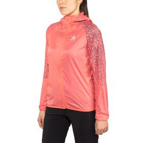 Odlo WISP Jacket Women dubarry-placed print SS18